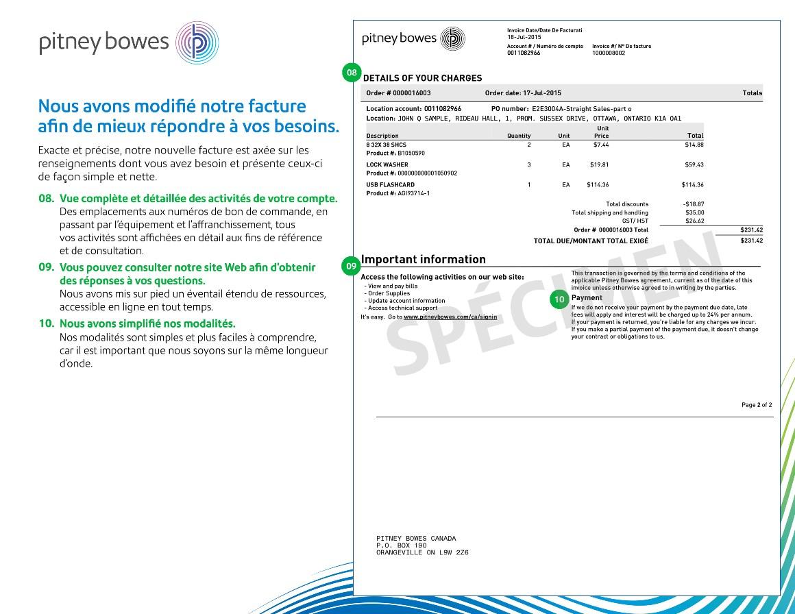 Information facture :  saisir correctement une facture